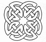 ... celtic cross, the celtic crosses' circles represent eternity and love